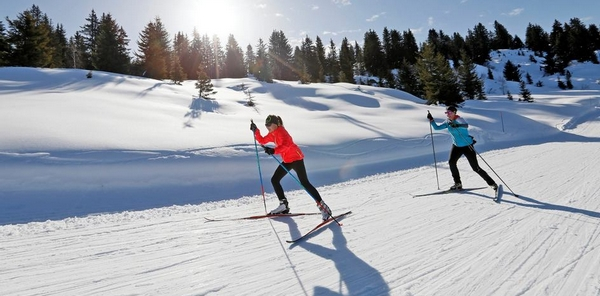 sport pour maigrir - le ski de fond